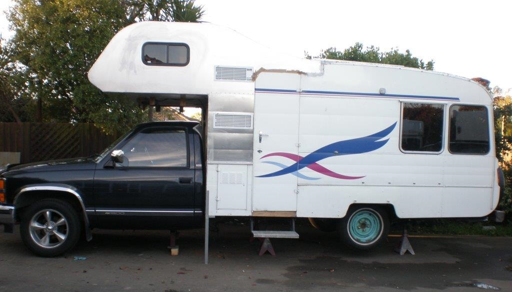Chevrolet Silverado Motorhome Conversion From Cf Bedford